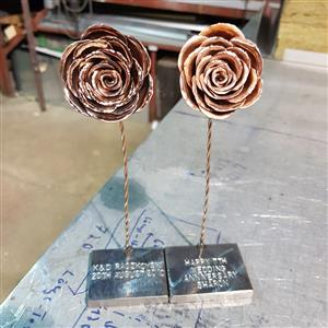 Deluxe Copper Rose | 7th anniversary | MyGiftGenie