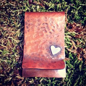 Personalised Copper Money Clip | 7th Anniversary | MyGiftGenie