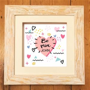 Be Mine Print | Valentines Day | MyGiftGenie