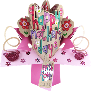 Mothers Day Pop Up Card | Mothers Day Card | MyGiftgenie