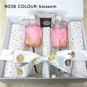 Pair of One Year Stemmed Roses | Luxury Flowers | MyGiftGenie