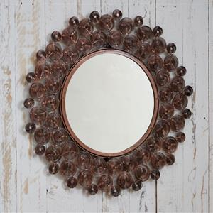 Zanie Copper Wire Mirror | 7th copper anniversary gift | MyGiftGenie