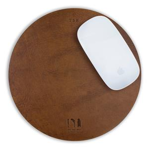 Personalised Leather Mouse Mat | Leather Gifts | MyGiftGenie