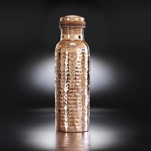 The Athlete Hammered Copper Bottle