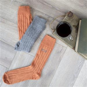 Personalised Mens Alpaca Socks | 7th Anniversary Gift | MyGiftGenie