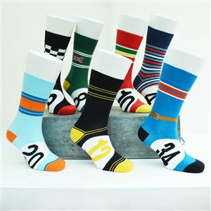Set of 3 Motoring Leg-End Socks Gift Box