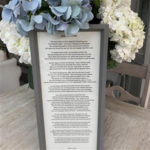 Personalised Poems for Speeches and Special Occasions | Personalised Gift | MyGiftGenie