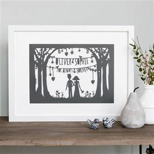 Wedding Papercut | Wedding Gifts | MyGiftGenie