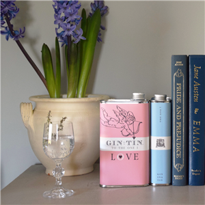 The Cupid - Gin In A Tin | 10th Tin Wedding Anniversary | MyGiftGenie