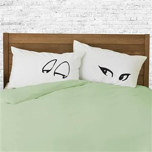 Flirting Pillowcases | 2nd Cotton Anniversary Gift | MyGiftGenie
